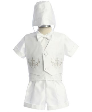 Baptism Christening Outfit With Shorts