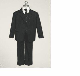 Boys Black Velvet Shawl Sports Coat Only- Blazer- Jacket