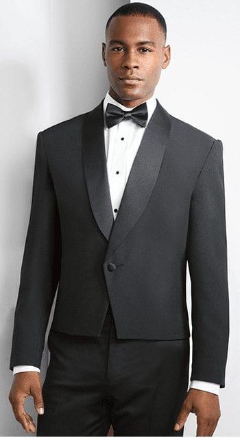 Mens Eaton Waist Length Spencer Coat Only – Hospitality – Waiter – Bartender