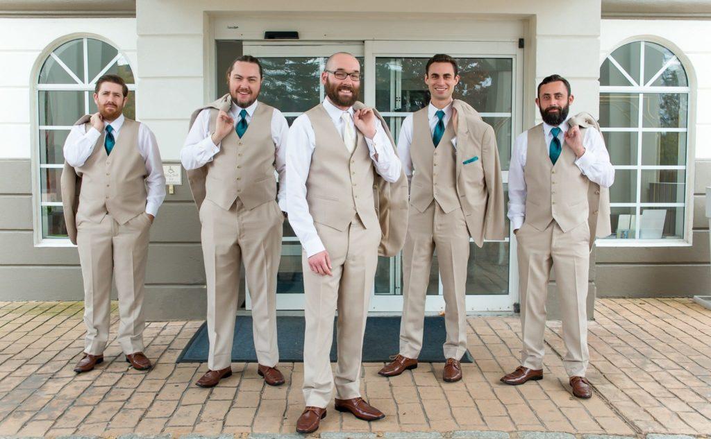 wedding suit vest set