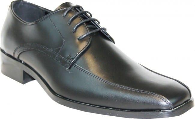 Black Matte Dress Shoes Slighty Square