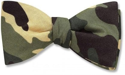 Bowtie CAMOUFLAGE Pre Tied Bow Tie for Wedding and Prom