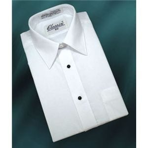 Boys Shirt and Shiny Necktie Set All Colors