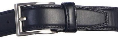 Boys Leather Black Belt