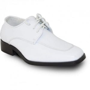 Boy's White Shoes