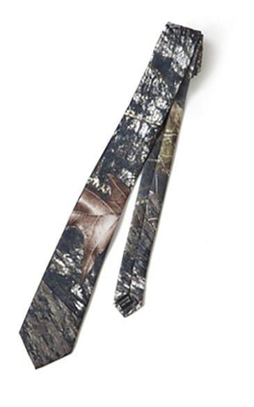 Camouflage Mossy Oak Boys Necktie