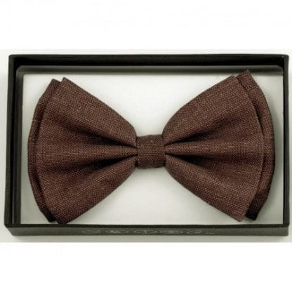 Bow Tie Cotton Brown
