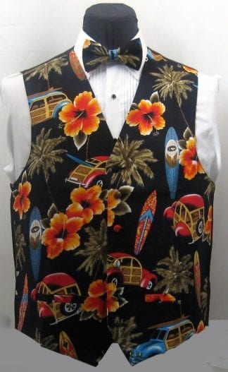Hawaiian Parrot Vest Only -Closeout
