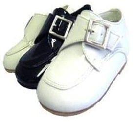 Infant Ivory Buckle Dress Shoes