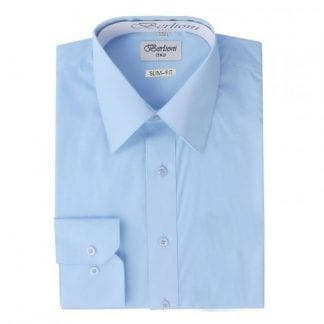 Dress Shirt Light Blue Takes Cuff Links