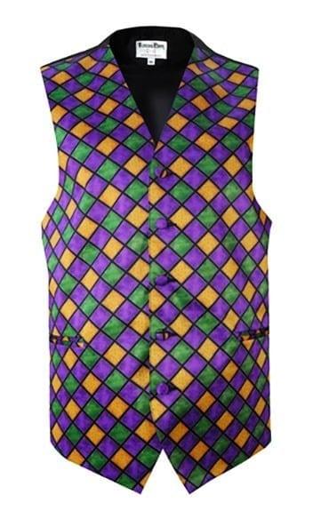 Mardi Gras Fullback Vest