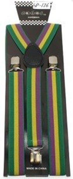 Suspenders America Flag Patriotic Clip Mens Suspenders