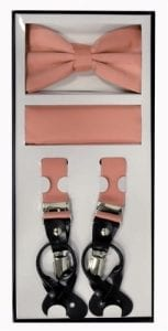 Formal Clip Suspenders in Many Colors and Styles For Tuxedos And Suits