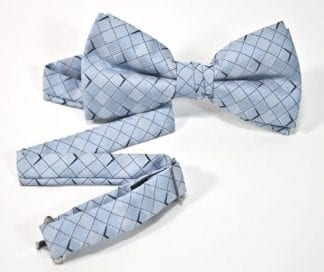 Bow Tie Patented Blue Eternity Bowtie