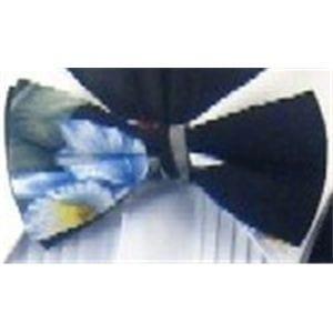Mens Black Hawaiian Bowtie Closeout