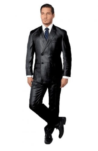 Double Breasted Men's Suit