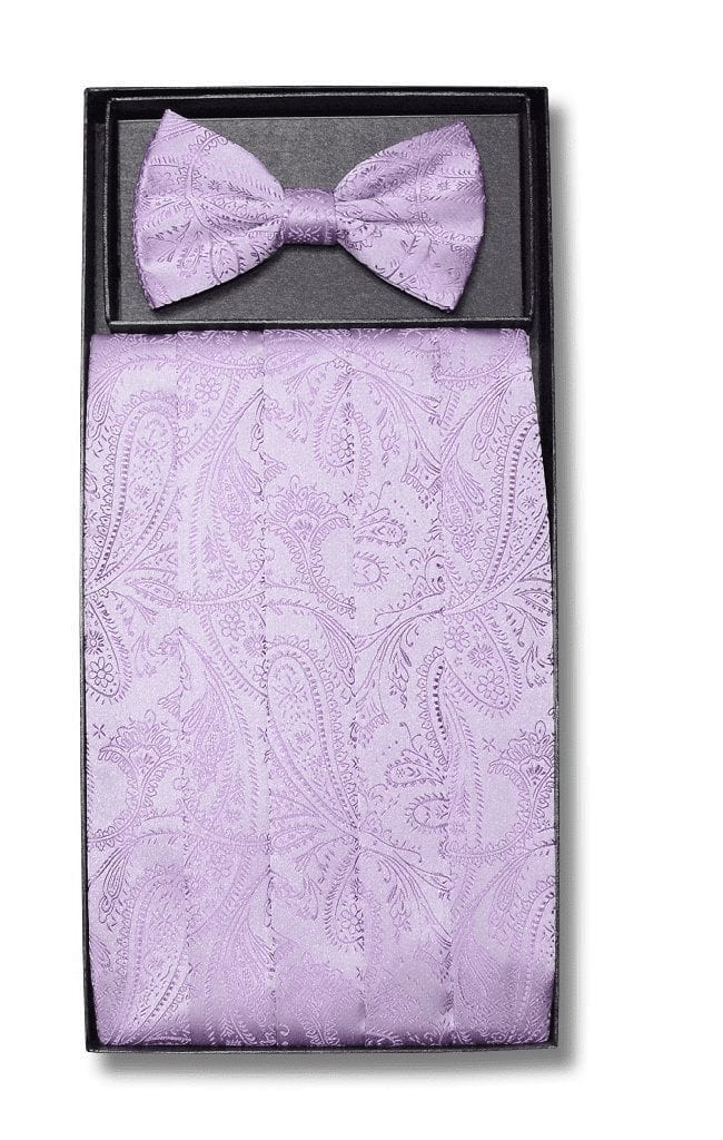 for Formal Occasions Men/'s Paisley Coral Polyester Vest with Pre-Tied Bowtie and Handkerchief