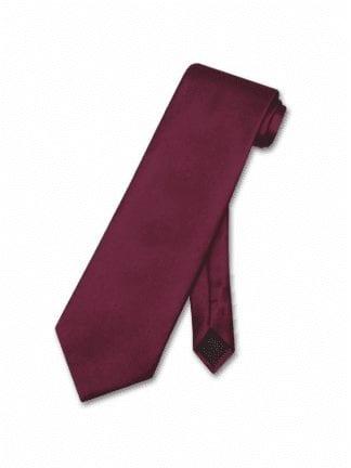 Necktie BOYS GEO GOLD SOLID Satin Pre tied Long Tie