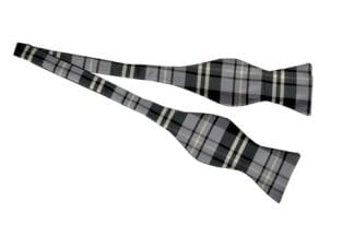 Plaid Microfiber Tie Mens Necktie All Colors