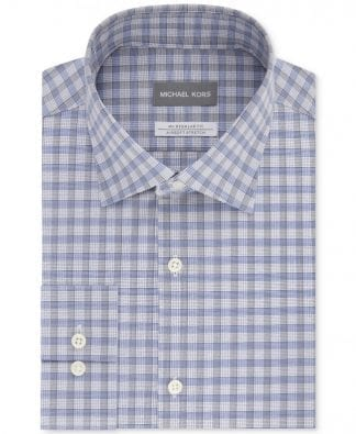 Tommy Hilfiger Slim Fit Non Iron Broadcloth Solid Dress Oxford Shirt Button Down Collar