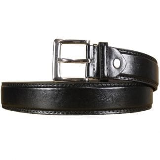 Boys Smooth Leather Black Belt in All Sizes