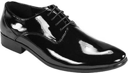 Tuxedo Shoes Patent Leather Classic