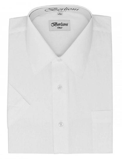 Dress Shirt Short Sleeve White