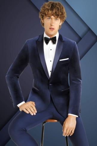 Velvet Blue Tuxedo
